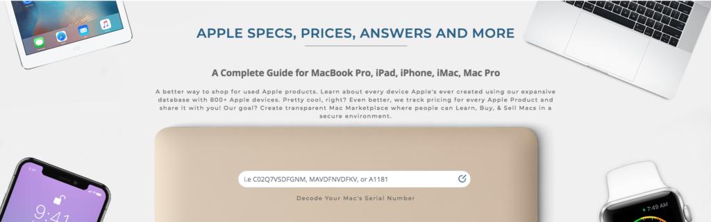 Apple Serial Number Decoder