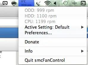 Adjust your MacBook's fan Speed