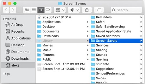 Remove Screensavers