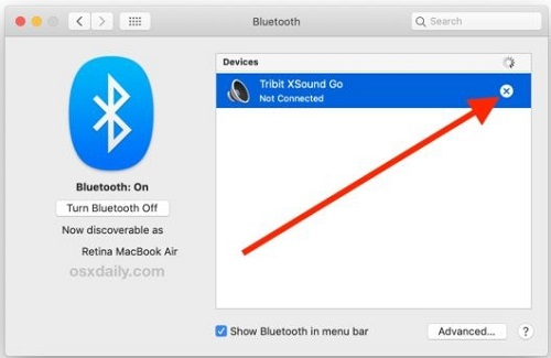 Unpair Bluetooth devices that you're keeping