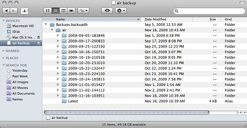 How to Restore Files from Time Machine Backups