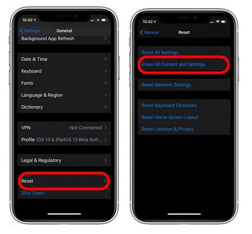 Recover Text Messages on iPhone by using iCloud