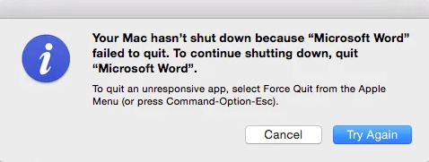 The Mac is Not Going to Shut Down