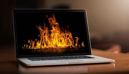 Overheating of the MacBook
